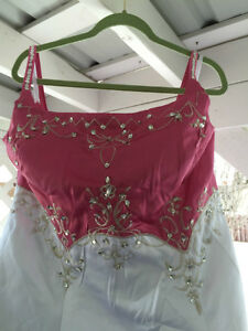 Wedding Dress New Pink Size 18 - 22