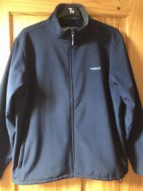 Navy Soft Shell windbreaker jacket size XXL