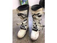 Motorcross boots : Alphine star