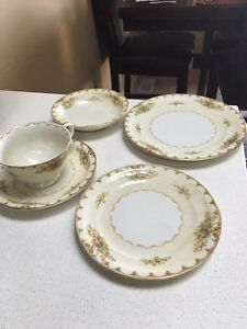 ANTIQUE DISHES MADE IN OCCUPIED JAPAN
