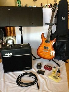 Guitar and accessories