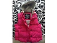 Superdry gillet very good condition size 12