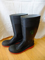 Steel Toe Rubber Boots - Size 12