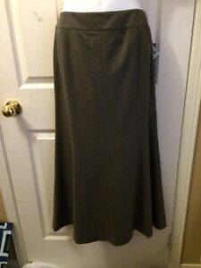 BNWT Long Wool Jones New York Skirt