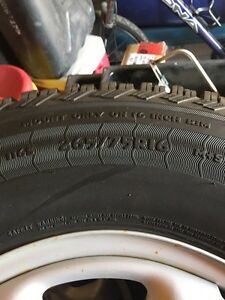 Winter tires 265/75R16