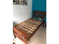 Solid single bed frame for sale/ FREE DELIVERY