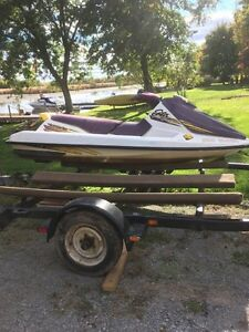 Sea doo and double trailer