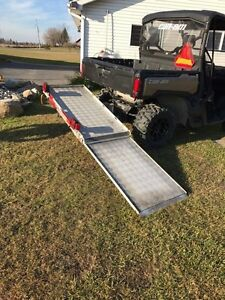 Wheelchair, generator, snowblower hitch carrier
