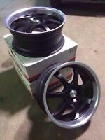 """18"""" rims multi-fit bolt pattern 4x100 and 4x114.3"""