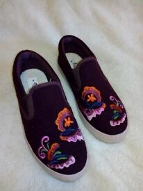 Next girls shoes, size 3
