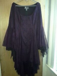 Purple/Black Goth Dress