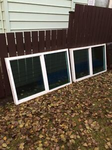 "60 x 36"" window inserts (two)"