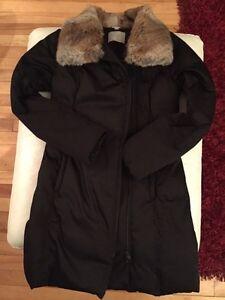 Manteau hiver Soia Kyo noir