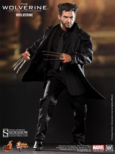 "Wolverine X-Men Origins Marvel Avengers 1//6 Action Figure Hot Toys 12/"""