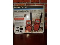 Silvercrest pmr twintalker 2 way radio set