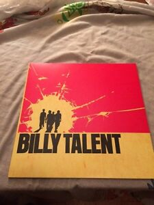 RARE BILLY TALENT RED AND YELLOW VINYL London Ontario image 3