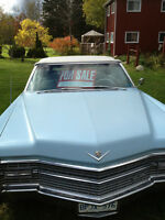 1966 Cadillac DeVille Convertible 65,000 orig miles