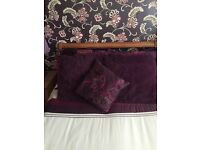 King size duvet covers x2