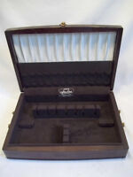Solid Mahogany Silver Chest By Northumbria