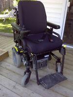 Electric Quikie Xplore Wheelchair