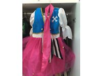 8x little girls dress up bundle size 5-6