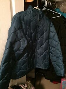 Ladies teal winter jacket