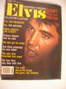 Elvis Presley 4 Magazine Peterborough Peterborough Area image 2