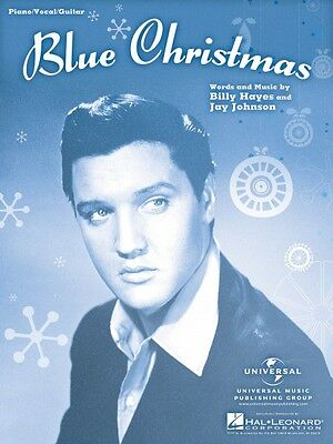Blue Christmas Sheet Music Piano Vocal Piano Vocal Elvis Presley NEW 001120024
