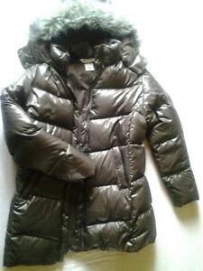 Manteau long pour dame en duvet Columbia taille XL