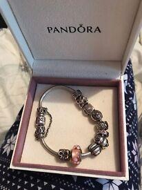 Pandora Bracelet + Charms