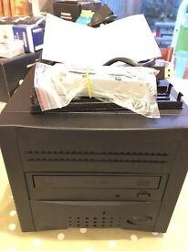 2 bay enclosure DVD and 1TB USB3