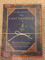 The Last Lecture by Randy Pausch-$8.00