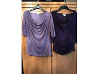 Purple tops, size 12