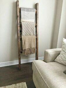 Rustic Blanket Ladder *Brand new*