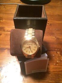 Michael Kors watch in original packaging. £75 (Ono)