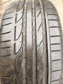 1x 225 40 19 Bridgestone runflat