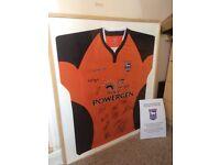 Signed itfc shirt 2005 FA cup semi