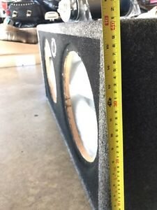 "KICKER CompS dual 12"" inch Subwoofer Cambridge Kitchener Area image 3"