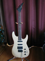 profile electric guitar with wammy bar in excellent condition