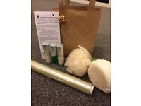Aloe body toning individual kit.