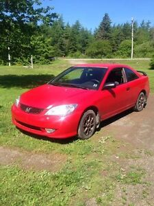 2005 Honda Civic Coupe (2 door) for sale or trade!