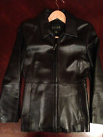 Danier Leather Jacket - mint