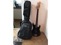 Bass Guitar plus case