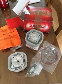 Airsal 70cc cylinder kit liquid cooled - Brand New and sealed - Moped Scooter.