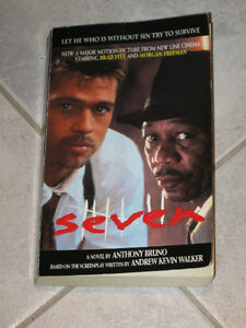 A NOVEL LIKE NO OTHER...SEVEN..by ANTHONY BRUNO...
