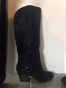 Brand new Fergalicious suede boots Prince George British Columbia image 1