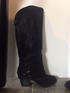 Brand new Fergalicious suede boots