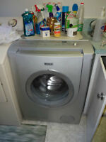 Front Loading Washer & Dryer, Also an Amana Fridge