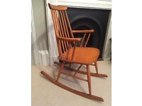 Ercol-type rocking chair