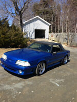 1992 ford mustang 5.0 GT convertible 5 speed